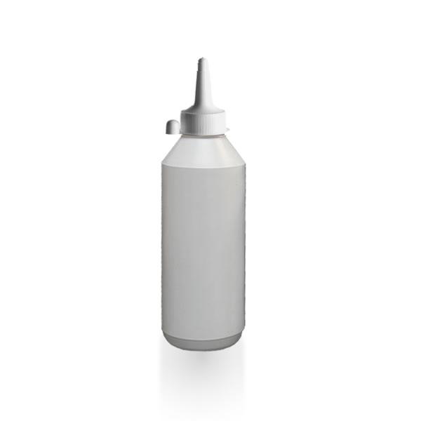runde 500ml lotionflasche mit spritzverschluss gt good s. Black Bedroom Furniture Sets. Home Design Ideas
