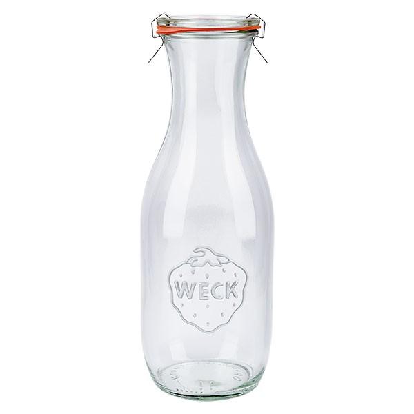 Weckglas - Saftflasche 1062ml komplett