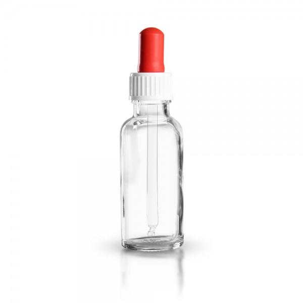 Klarglas Pipettenflasche 30ml