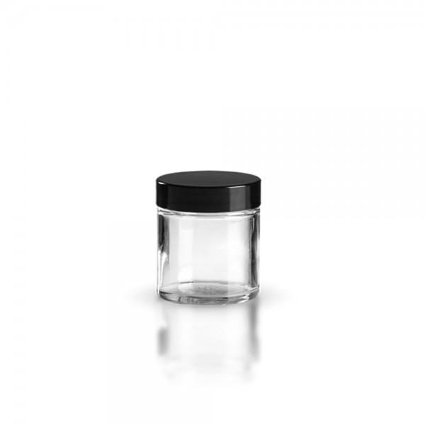Karer Glastiegel + Deckel 60ml