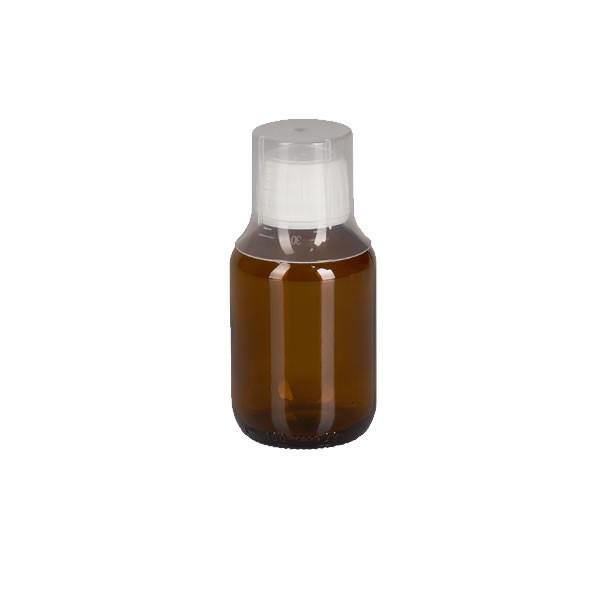 100ml Euro-Medizinflaschen mit Dosierbecher