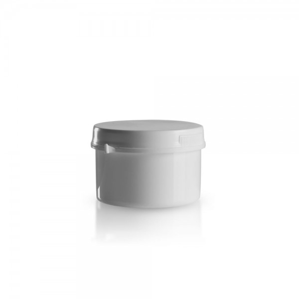 250ml Schraubdose mit Originalitätsverschluss weiß