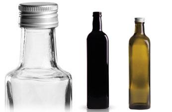 eckige glasflaschen mit schraubverschluss gt good s. Black Bedroom Furniture Sets. Home Design Ideas