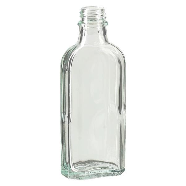 Meplatflasche klar 100ml