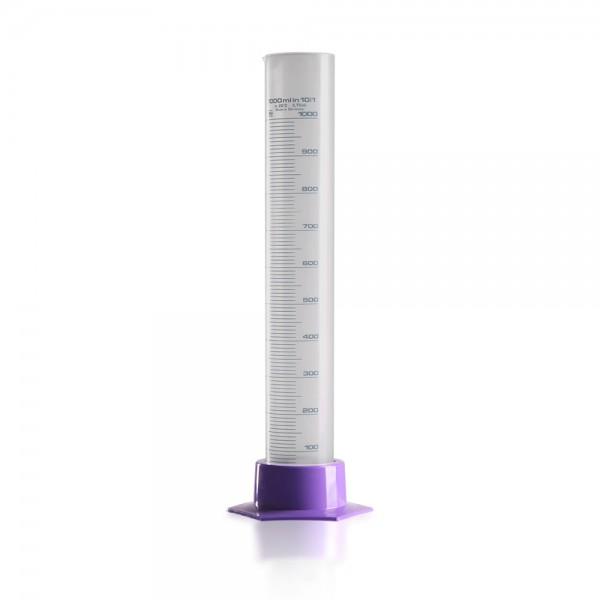 1000ml Messzylinder aus Polypropylen Kunststoff