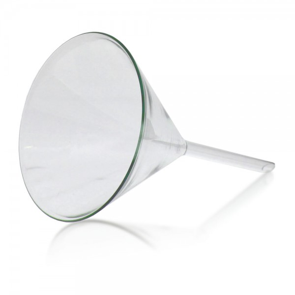 Glastrichter 100mm Labor - Glas