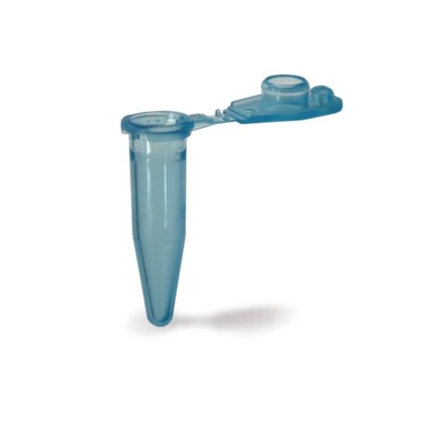 Reaktionsgefäß 0.5 ml blau