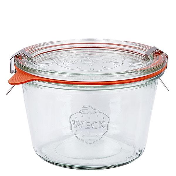 Weckglas - Einmachglas 370ml komplett
