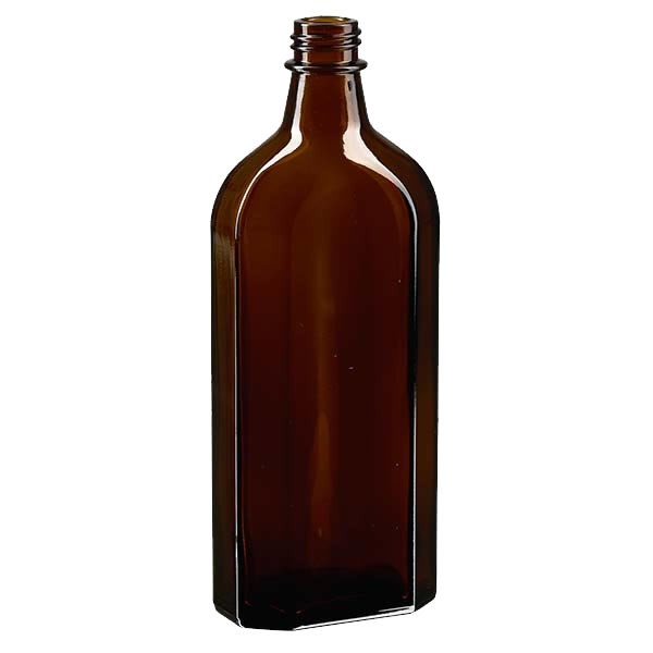 Meplatflasche braun 250ml DIN28
