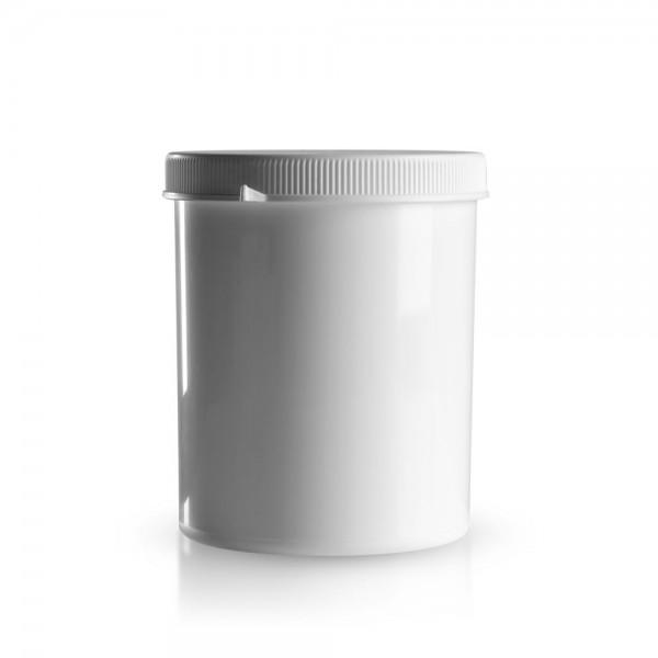 1250 ml Schraubdose mit Originalitätsverschluss weiß