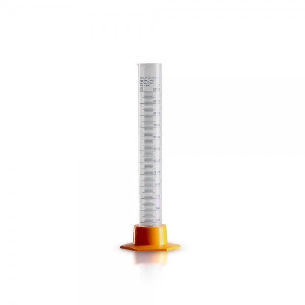 250ml Kunststoff Messzylinder aus Polypropylen (PP)