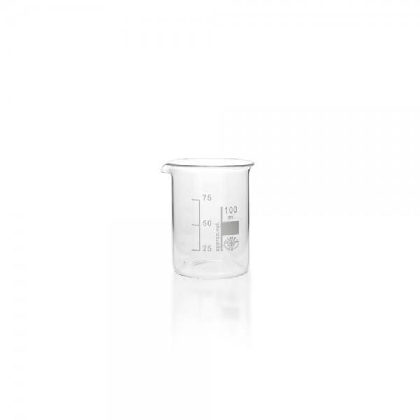 Becherglas 100ml niedrige Form