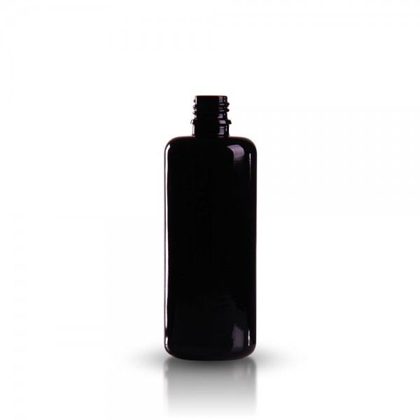 Violettglas Tropfflasche 100ml