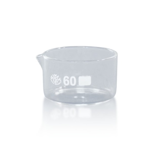 60 ml Kristallisierschale DIN 12338 MA