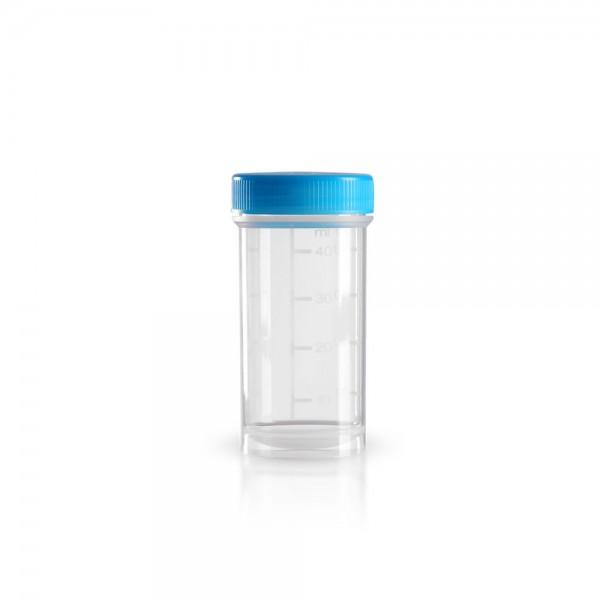 50 ml Kunststoffdose (Pathogefäß)