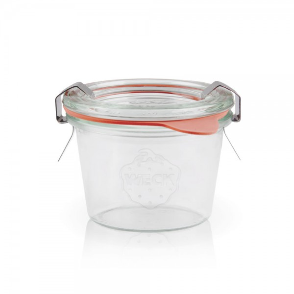 Weckglas - Einmachglas 80ml komplett