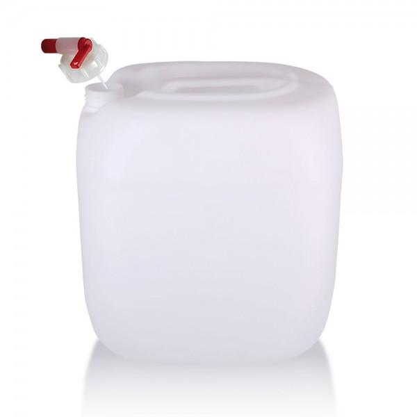 Wasserkanister 30l mit Auslaufhahn, UN-Zulassung