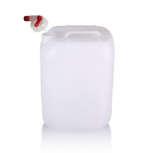 Wasserkanister 20l inkl. Auslaufhahn, UN-Zulassung