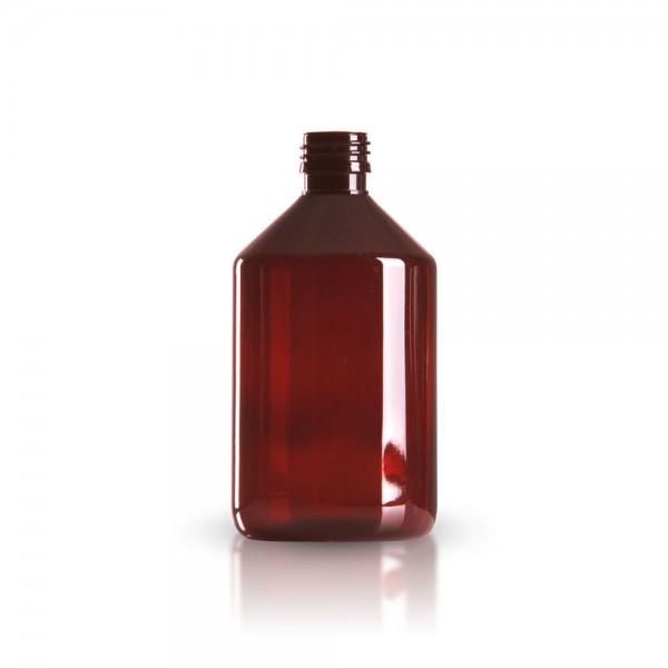 PET Medizinflasche (Sirupflasche) 500ml