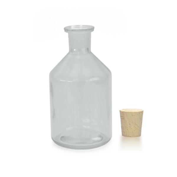 250 ml Steilbrustflasche EH inkl. Korken KG