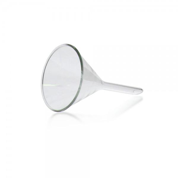 Trichter 55mm aus Borosilikat Glas