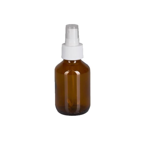 100ml Euro-Medizinflasche mit Zerstäuber weiß