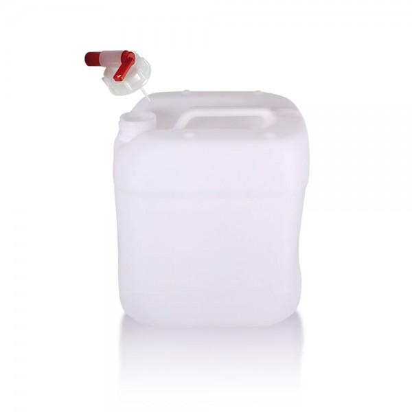 Wasserkanister 15l mit Auslaufhahn, UN-Zulassung