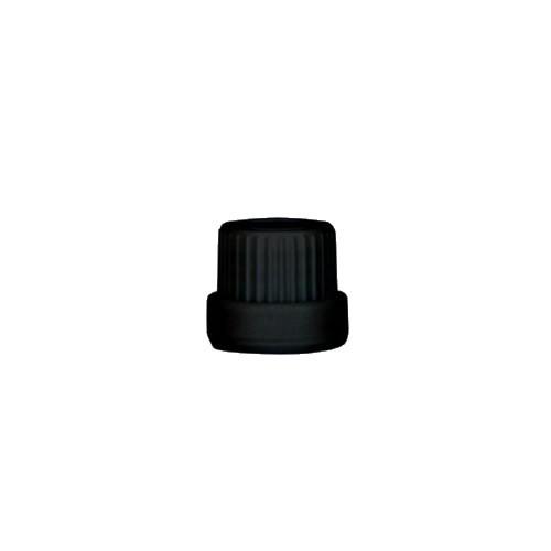 Tropfverschluss schwarz DIN18 ST