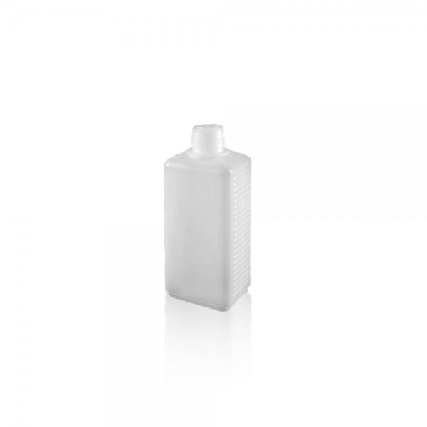 Eckige Kunststoffflasche / Vierkantflasche 250ml
