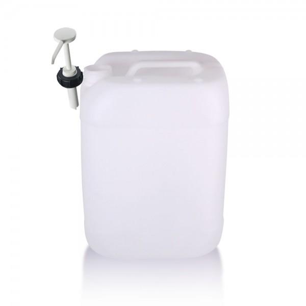 Kunststoff Kanister 20l inkl. Dosierpumpe, UN-Zulassung