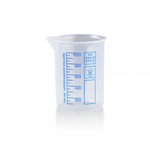 Messbecher 100ml Kunststoff