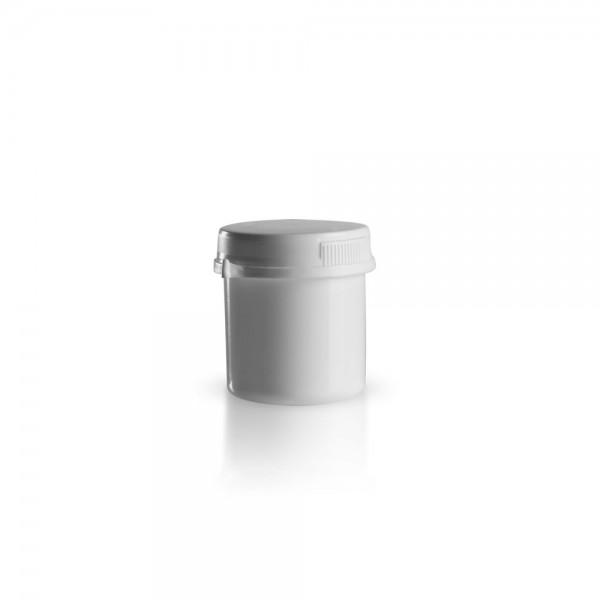 75ml Schraubdose mit Originalitätsverschluss weiß