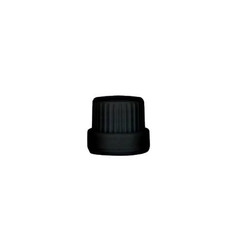 Schraubverschluss schwarz DIN18 ST