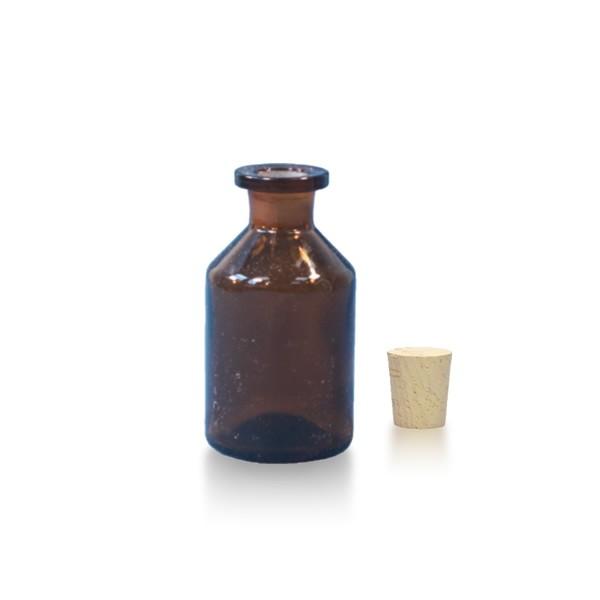 50 ml Steilbrustflasche EH inkl. Korken BG