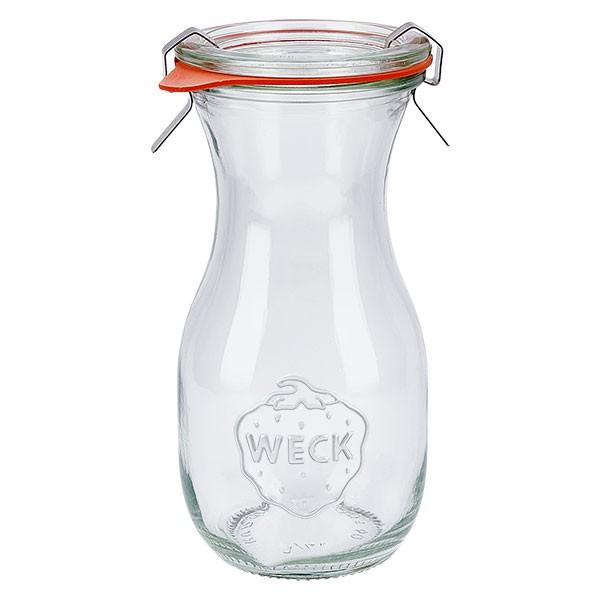Weckglas - Saftflasche 290ml komplett