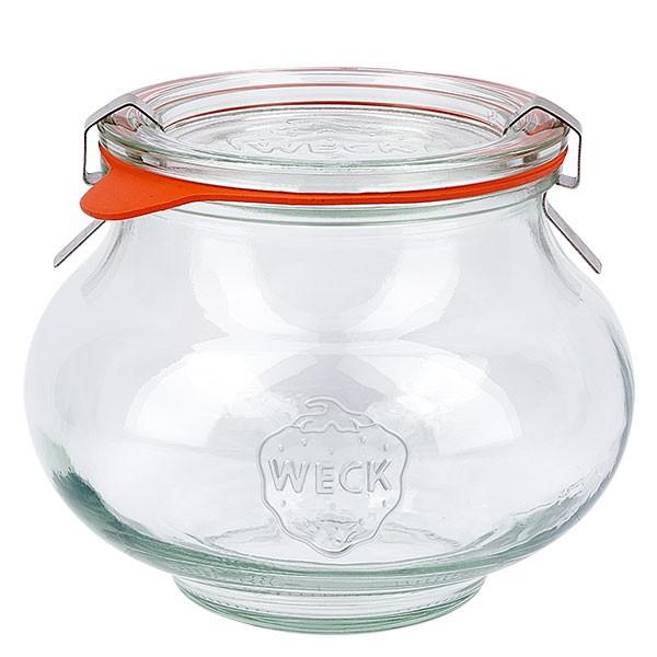 Weckglas - Schmuckglas 560ml komplett