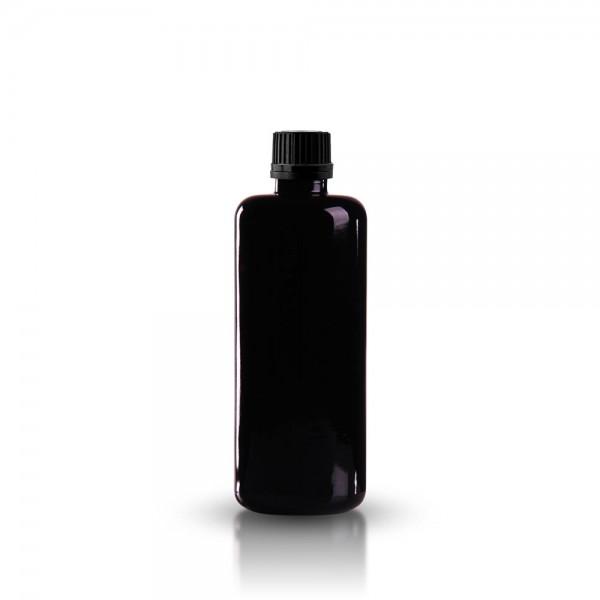 Violette Tropferflasche 100ml + Tropfverschluss