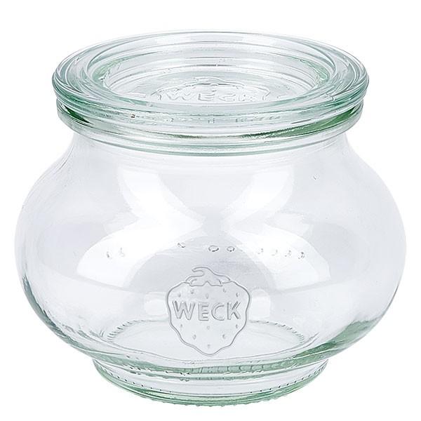 Weckglas - Schmuckglas Unterteil 220ml + Deckel