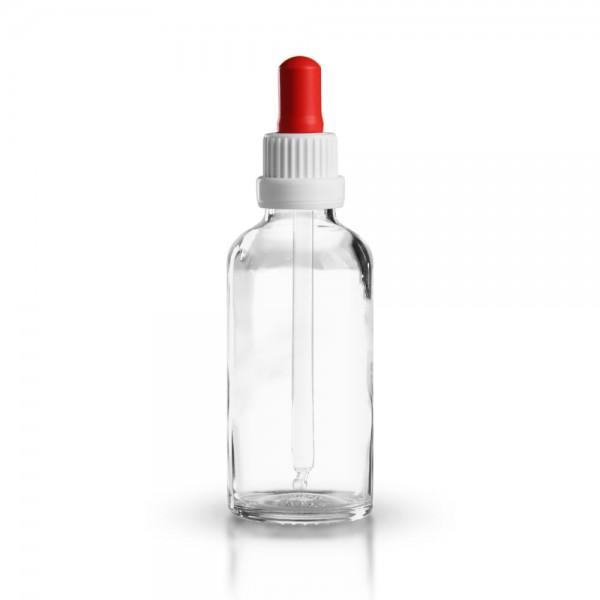 Klarglas Pipettenflasche 50ml