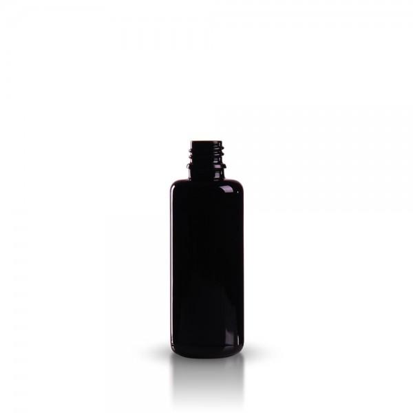 Violettglas Tropfflasche 50ml