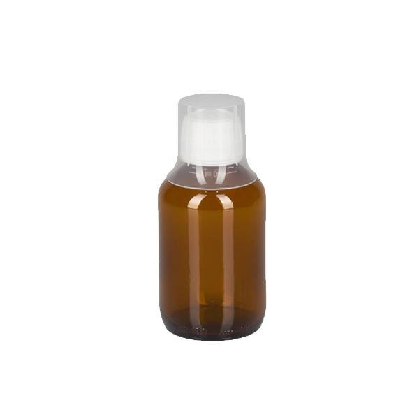 150ml Euro-Medizinflaschen mit Dosierbecher