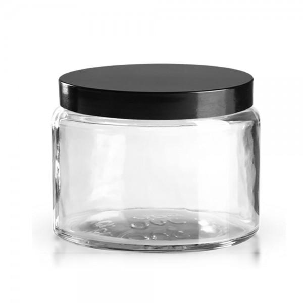 Karer Glastiegel + Deckel 500ml