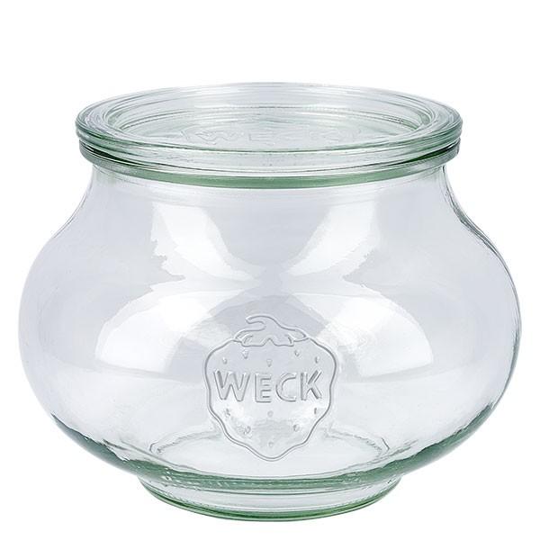 Weckglas - Schmuckglas Unterteil 1062ml + Deckel