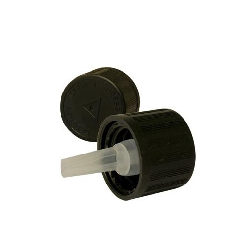 Tropfverschluss schwarz DIN18 OV, Kisi, Bli