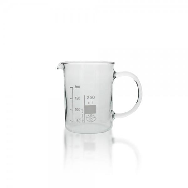 Becherglas mit Henkel 250ml