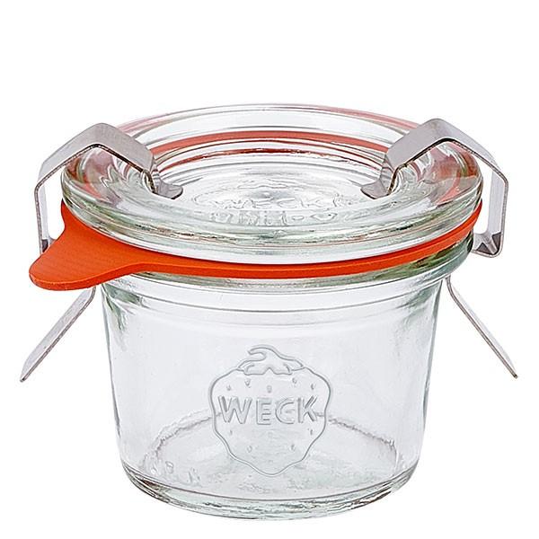 Weckglas - Einmachglas 35ml komplett Mini