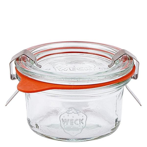 Weckglas - Einmachglas 50ml komplett Mini