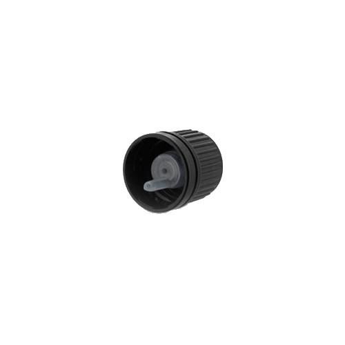 Tropfverschluss 1mm schwarz DIN18 OV