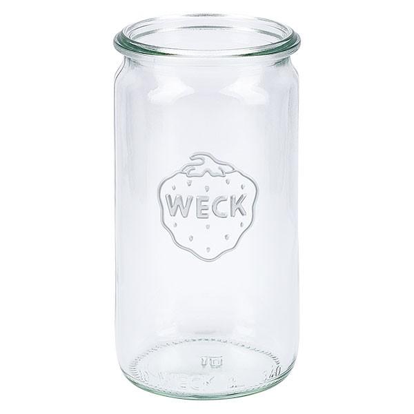 Weckglas - Zylinderglas Unterteil 340ml