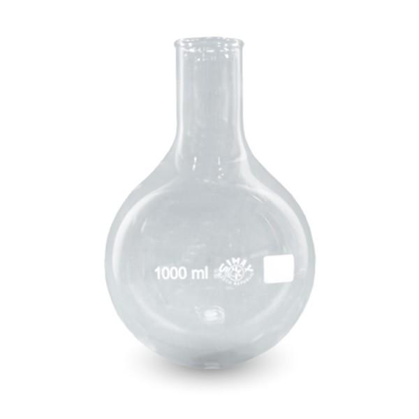 Rundkolben 1000 ml Enghals ISO 1773